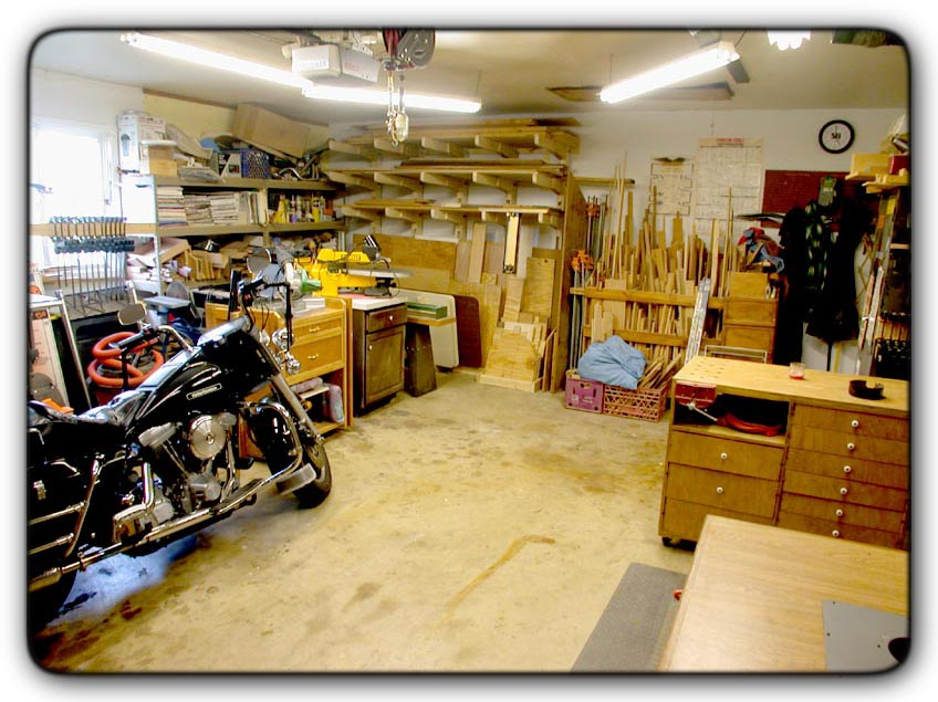 2 Car Garage Workshop Images