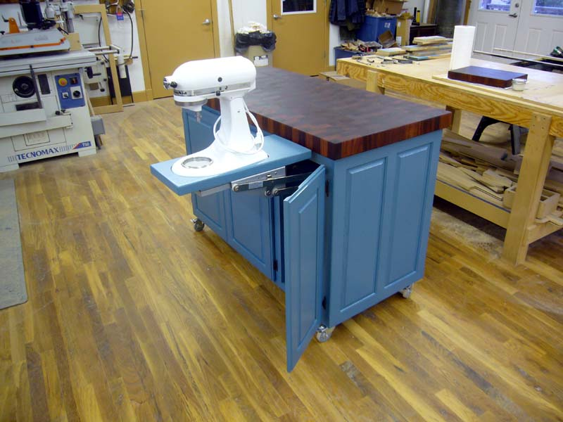 Woodworking Kitchen Cart
